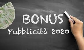Bonus pubblicità 2020: al via la comunicazione di accesso